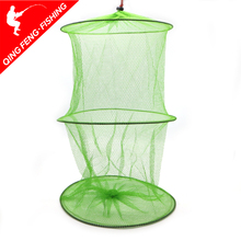 Trap-Network Shrimp Fishing-Net Cage Mesh Foldable Tackle48x30cm 2-Layers