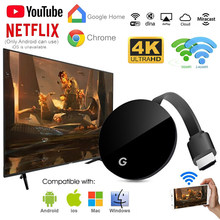 5G WiFi беспроводной дисплей ключ TV Stick Full 1080P Chromecast HDMI Miracast DLNA ТВ литой Дисплей IOS/Android Chrome Google Home(Китай)