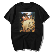 Tops T-Shirts Music-Album London Rap Scotts Butterfly Summer Effect Hip-Hop The New