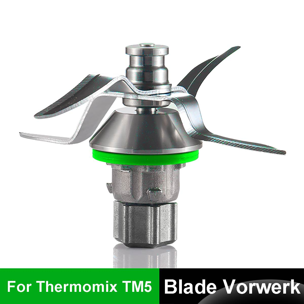 Thermomix Blade Tm31 BiuZi 1Pc Stainless Steel Blender Blade Replacement Part Accessories Compatible for Vorwerk Thermomix TM31 TM51