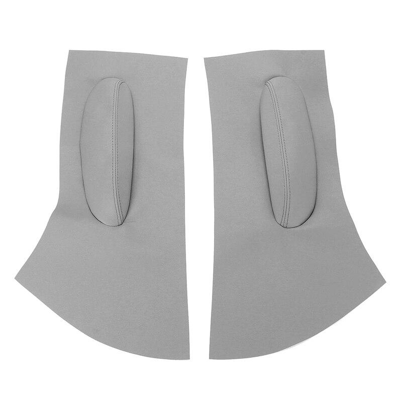 PQZATX Accessoires de Style de Voiture Garniture de Couvercle de Poign/ée de Porte Lat/érale Chrom/ée pour 307