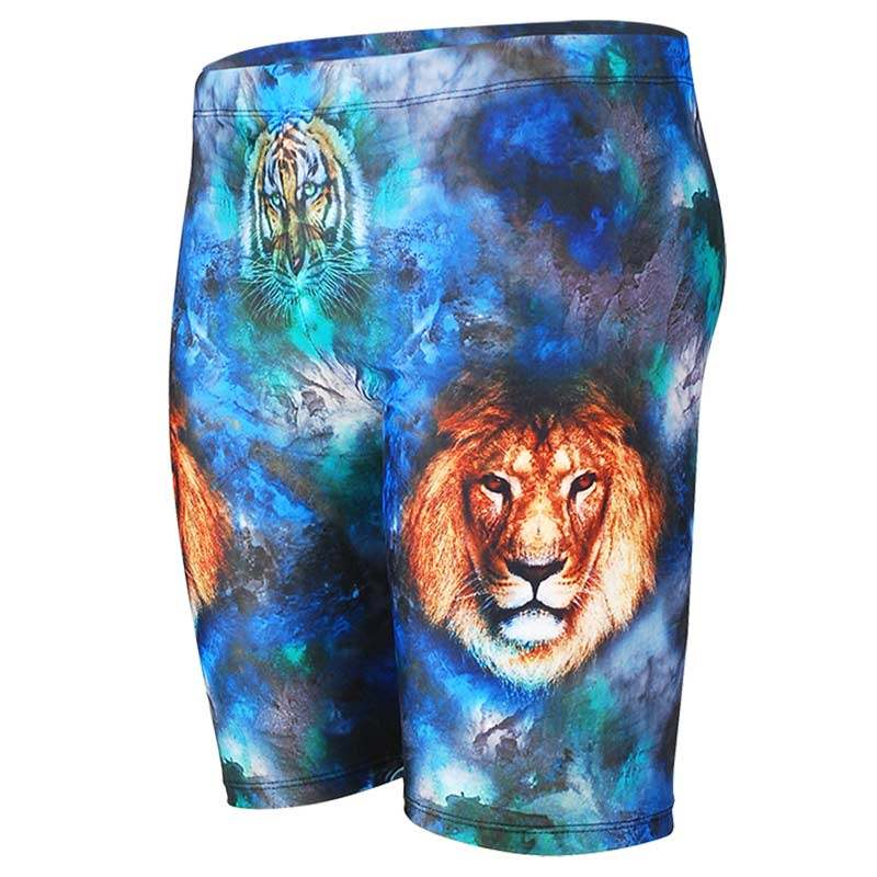 Boschke Swimsuit Man 5-Point Swimming Trunks XL Size Animal Printed Fashion Boy/'s Beach Short Swim Briefs Gay Mens Swimwear 2020