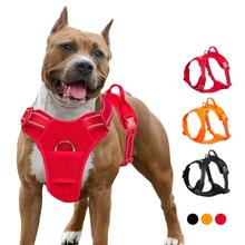 Harness Dog-Accessories No-Pull-Vest Truelove Adjustable Outdoor-Sport Padded Mesh Large