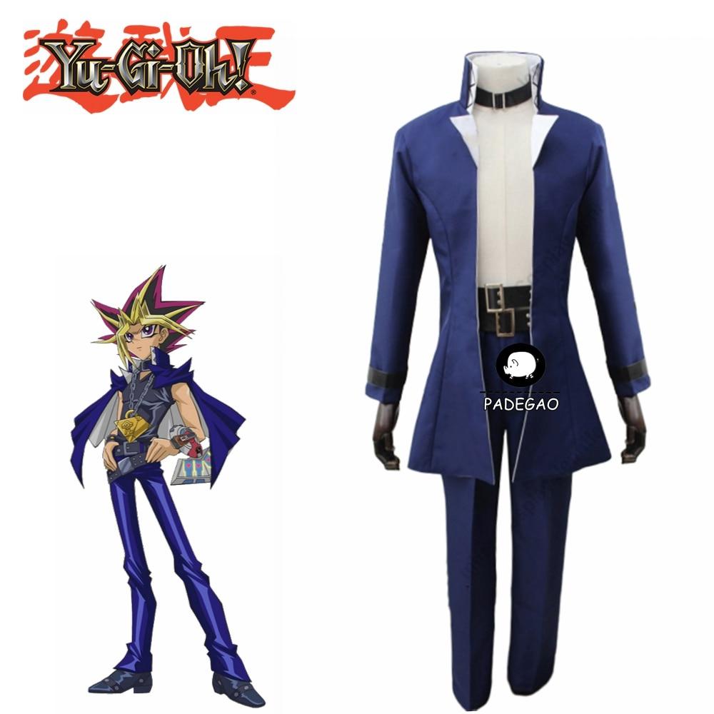Yu-Gi-Oh Cos Clothing Yami Bakura Cosplay Costume New
