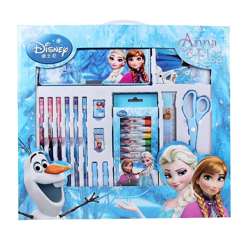 Disney Frozen 2 Staionery Set /& Pencil Case Christmas Birthday Gift Set