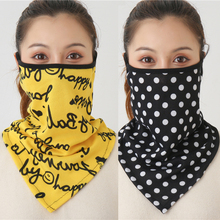 Foulard Cotton Scarves-Ring Wraps-Cover Bandana Spring-Mask Face-Scarf Warm Soft-Neck