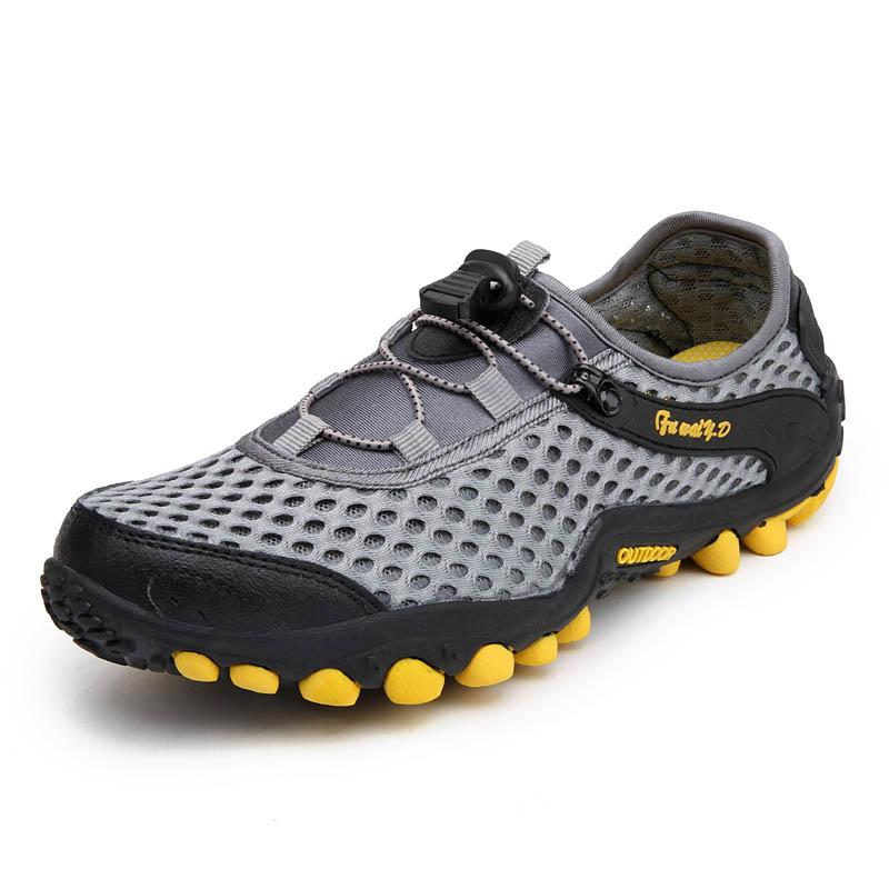 Aqua Shoes Ultra-light Quick-drying Beach Water River Walking 2019 Summer Men Mesh Breathable Flotillas Outdoor Hiking (2)