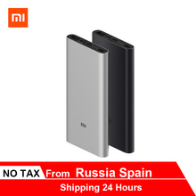 Xiaomi Mi 10000 mAh power Bank 3 18W MAX Quick Charge USB-C двойной входной выход PLM12ZM bank для samsung