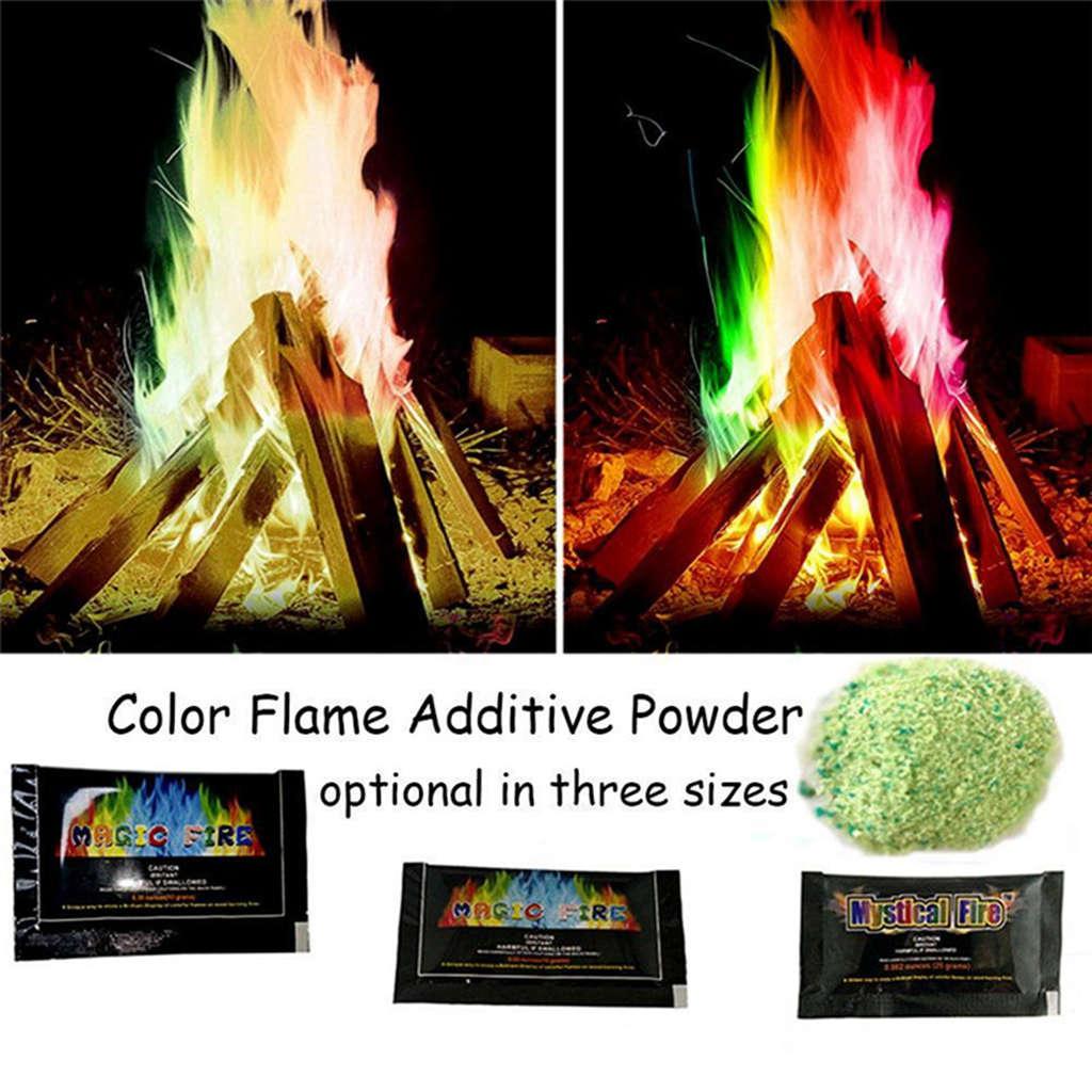 10g Mystical Fire Magic Tricks Coloured Flames Bonfire Fireplace Pit Patio B$CA