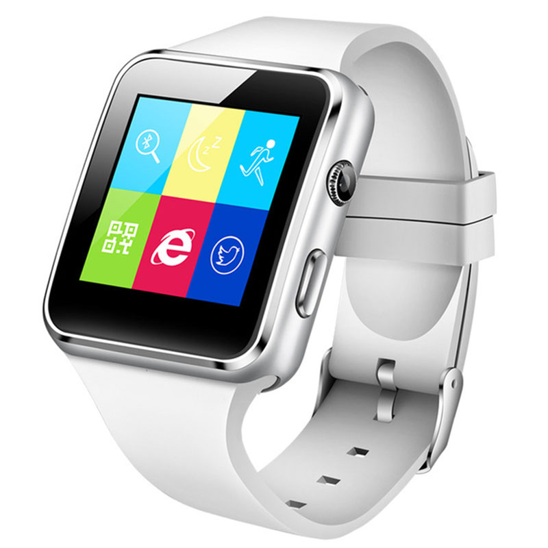 Watch Bracelet Clock Camera Support Fitness-Monitor Touch-Screen Bluetooth Waterproof title=
