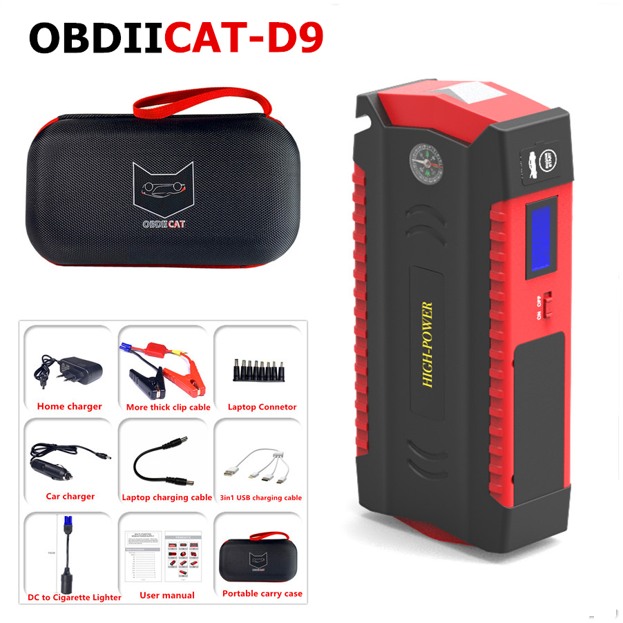 Car-Battery-Booster Power-Bank Jump-Starter Car-Starting-Device Petrol Diesel Portable title=