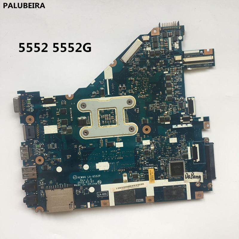 For Acer Aspire 5552 5552G AMD PEW96 LA-6552P MB.R4602.001 Motherboard Tested OK