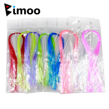 Lure Jig Flashes Fly-Tying Bimoo 2-Packs Ice-Wing DIY UV