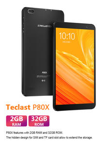 Teclast P80X 4G Tablet Android 9.0 Netbook Phablet Tablets 8 inch 1280 x 800 SC9863A