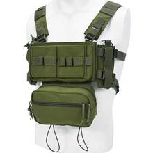 Bag Chest-Rig Wargame Airsoft Tactical Vest Combat Hunting Outdoor MK3 Magazine-Pouch
