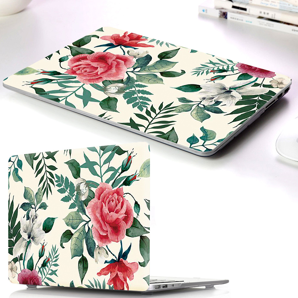 Hard Laptop PC Case Sleeve For Macbook Air Pro Retina 11 12 13 15 Touch Bar For macbook New Air 13 A1932 2018 shell Pro 13 A1706