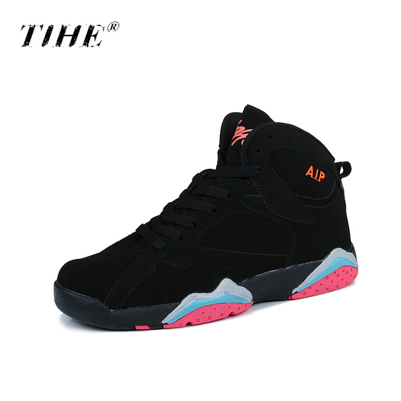 Basketball-Shoes Sneakers Jordan Retro Women Brand Unisex for Shockpoof Athletic Outdoor title=