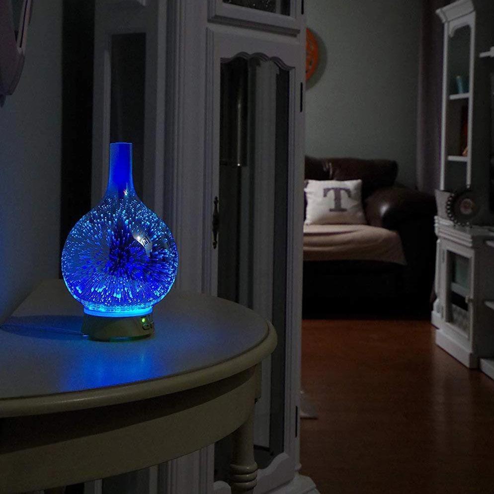 Diffuseur huiles essentielles pluie d'étoiles 3D | oko oko