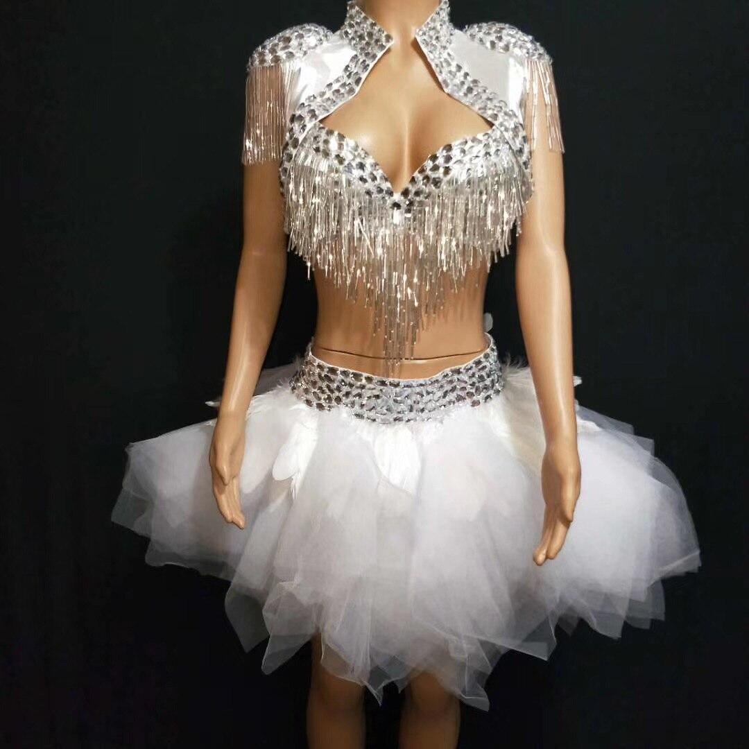 """Ladies 15/"""" Black /& White Striped Full Circle Skater Skirt Burlesque Fancy Dress"""