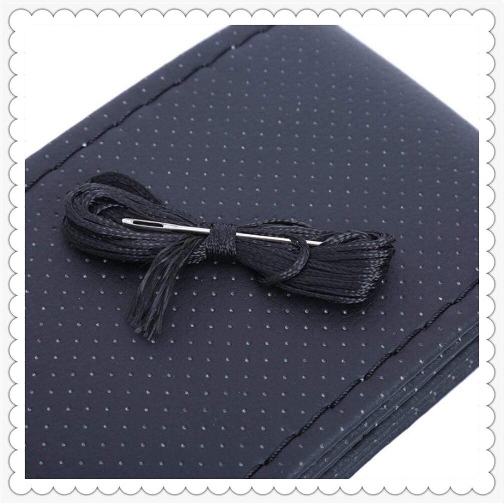 Car steering wheel ferrule thread artificial leather auto styling DIY for Audi A4 Avant A4 Cabriolet A6L A8L