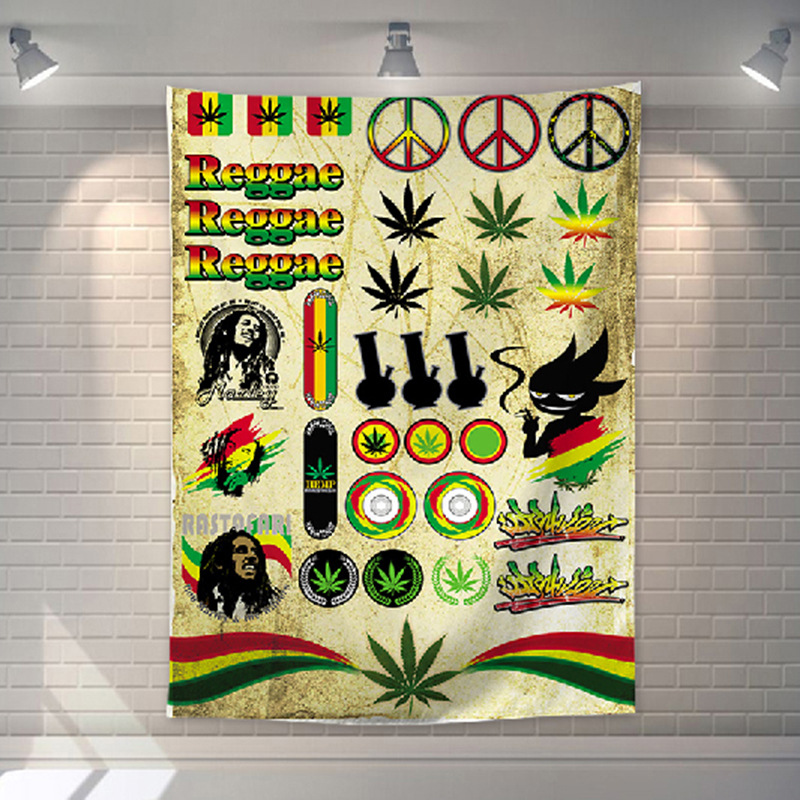 Tenture Rastafari | Rasta-Lion