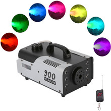Fog-Machine Led-Fogger Wireless Remote-Control Stage Holidays Weddings Professional Parties