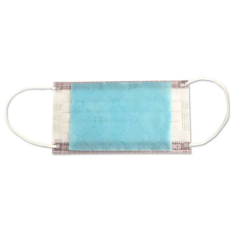 Disposable Three-layer Waterproof Mask Gasket Breathable Isolation Filter Mat Anti-fog Dust Mask Replacement Mat