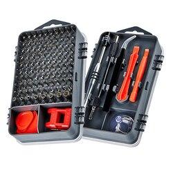 Набор отверток KALAIDUN 112-в-1, набор инструментов для ремонта мобильных телефонов с магнитной отверткой