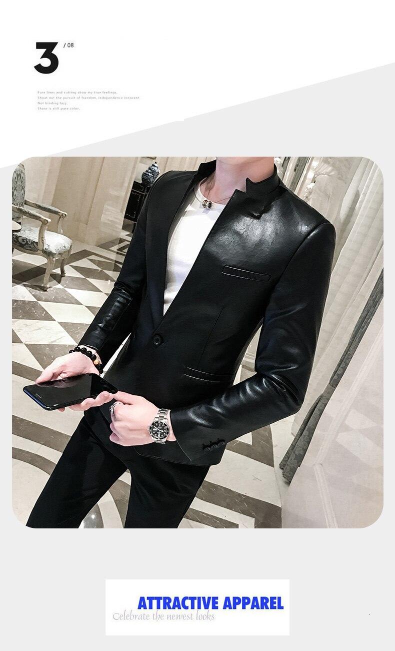 Blazers Noir Brillant - Ref : J2513K2KU