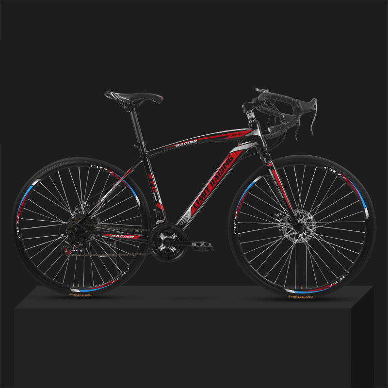 Mechanical-Disc-Brake Road Bicycle Adult-Bike 26-Inch Front 21-Speed Dead-Flying 30-Knife title=
