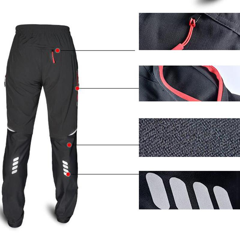 Unisex Man Outdoor Sports Cycling Thin Pants Long Trousers Comfortable