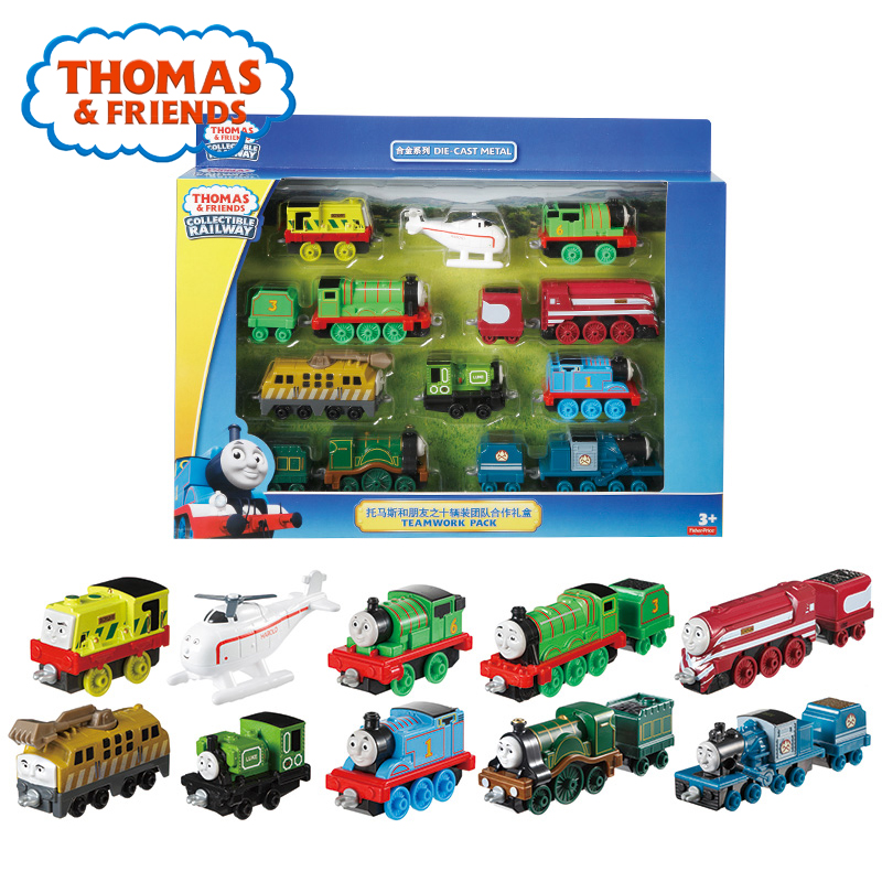 Thomas And His Friends Trains The Tank Engine 12 PCS Action Figure Doll Toys