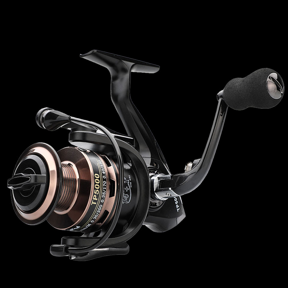 Fishing Reel Spinning-Reel-Carp Saltwater High-Speed WALK for 14--1 BB Good-Quality title=