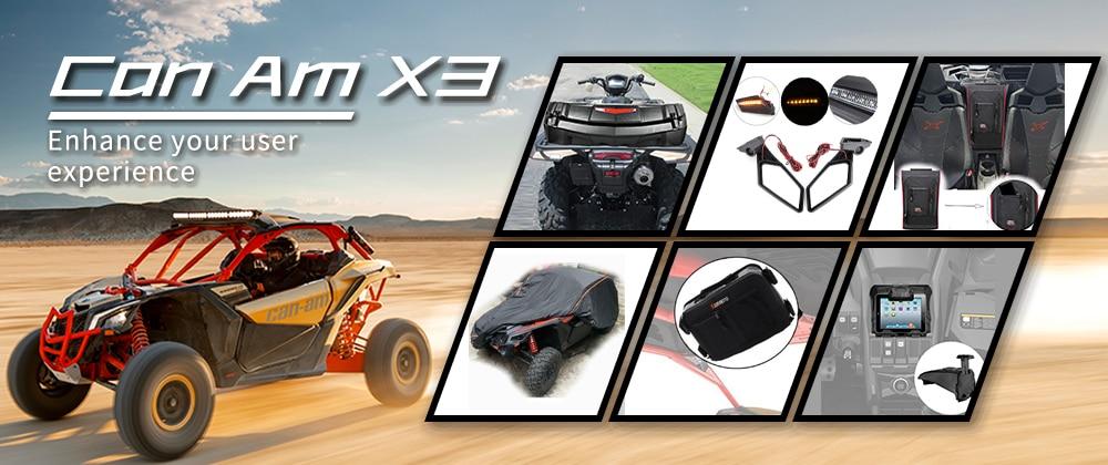 CANAM MAVERICK  MAVERICK MAX 1000 R Turbo UTV Full Windshield 2013-2017