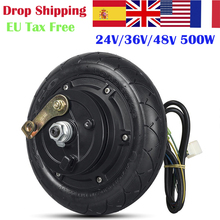 Scooter Brushless Motor Hub-Wheel 8-Inch 500W 48v 350w 24V 36V