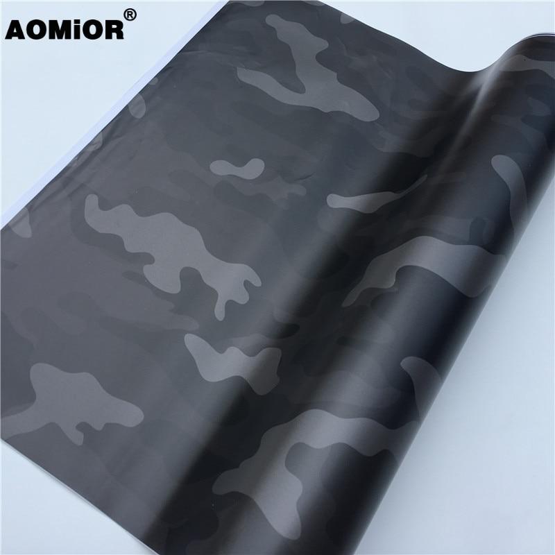 Black Camo Vinyl Wrap (19)