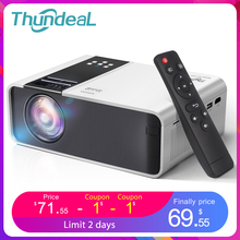 Wifi Projector Game Video Native Movie Thundeal TD90 HDMI Home-Cinema Android 1280x720p