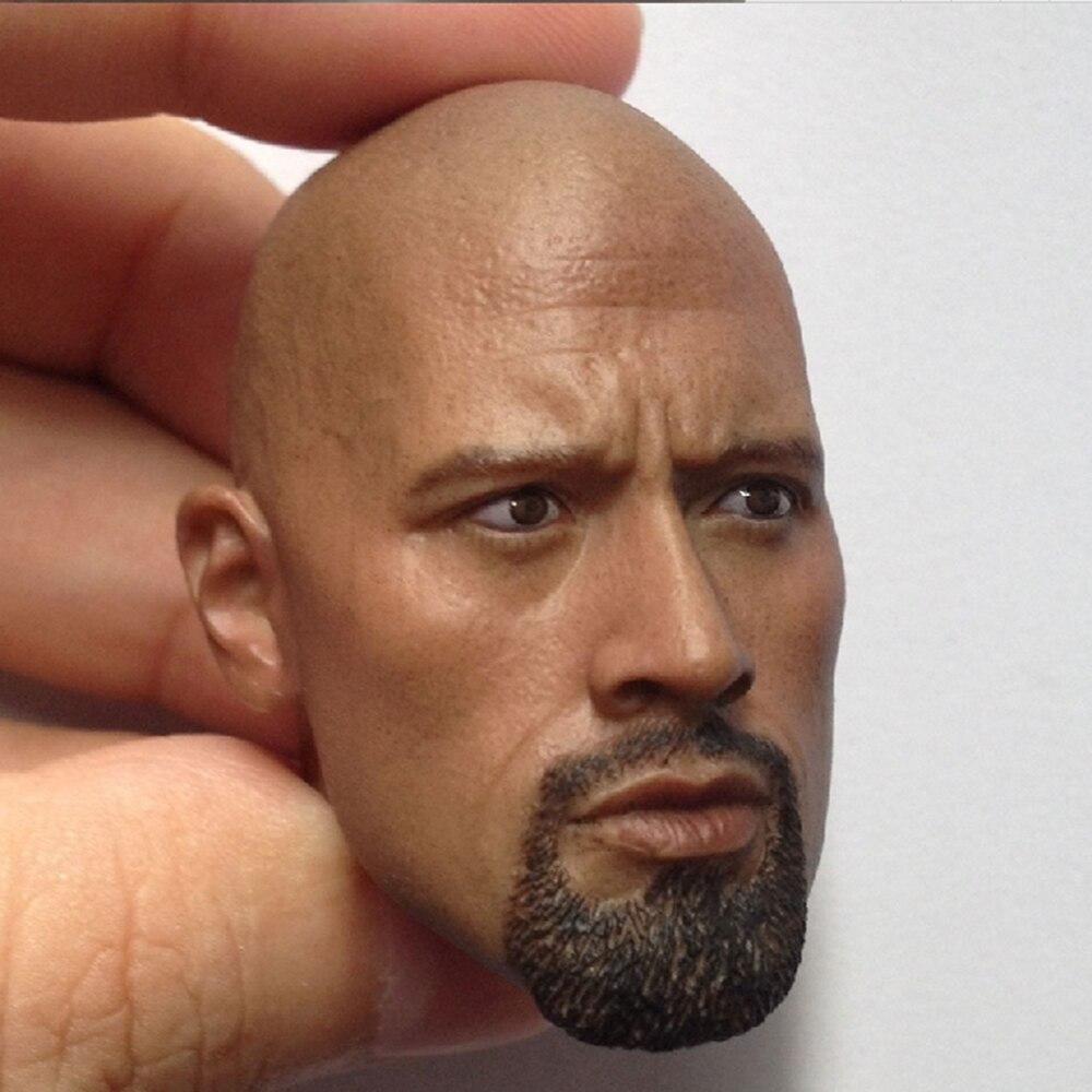 """CrazyDummy Toys 1//6 Dwayne Douglas Johnson CD 78002 Head Sculpt For 12/"""" Figures"""