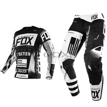 Jersey-Pants Gear-Set Offroad-Suit Dirt-Bike MX Race Troy Fox Mountain-Bicycle Riding