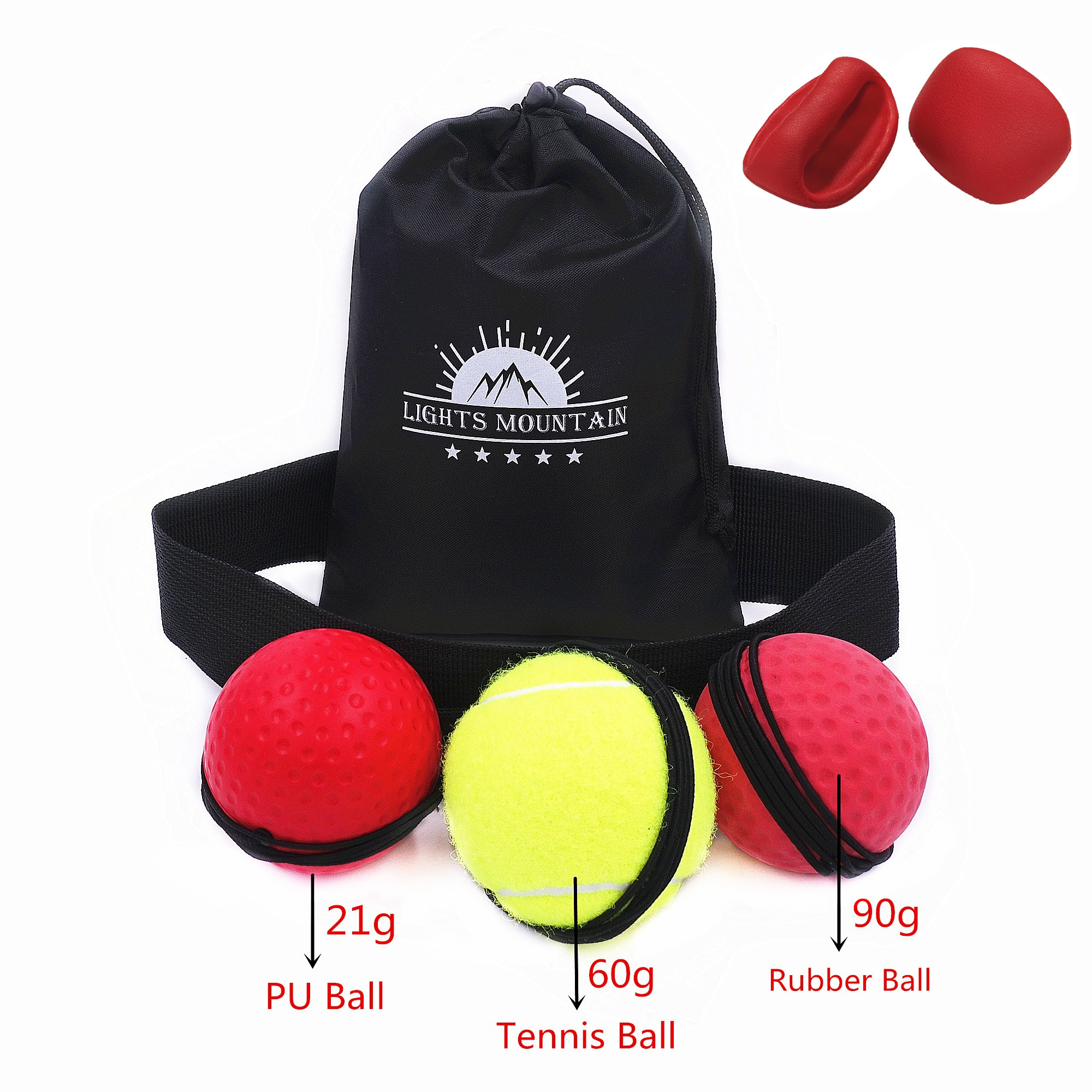 1PC Fighting Boxing Reflex Ball For Reflex Speed Training Boxing Punch Ball/_G