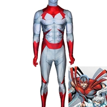 Superhero Cosplay Costume Hawk and Dove Costume Comic Superhero jumpsuit Custom made