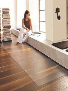 PVC Carpet Protective-Pad Floor-Mat Coffee Living-Room Transparent Waterproof Soft-Glass