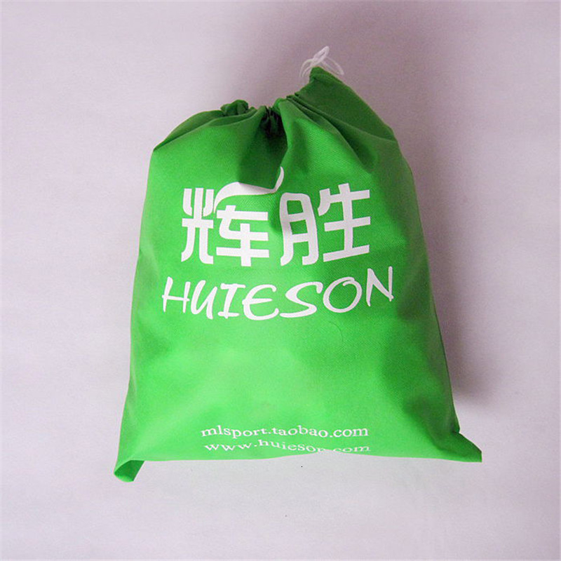 Huieson Non-woven Cloth Table Tennis Balls Storage Bag Dustproof Drawstring Bag for Ping Pong Balls Table Tennis Accessories (1)