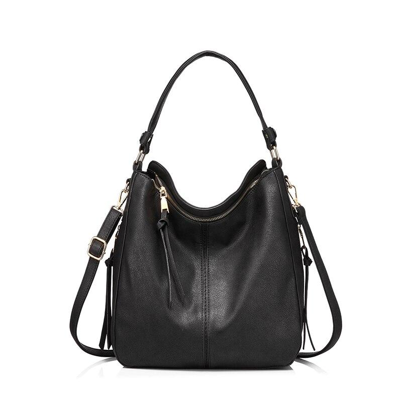 REALER женские сумки из искусственной кожи Вместительные сумки на плечо высокого качества для Дамы Вместительные сумки через плечо с короткими ручками Большая емкость