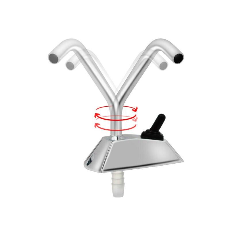 LQNB Grifo de Rotaci/ón de Galera Completo de 12V de 360 Grados con Interruptor para Accesorios de Caravana de Autocaravana RV