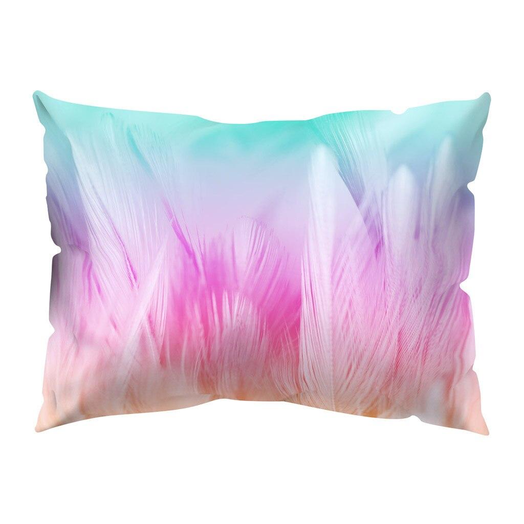 Print Pillow Case Polyester Sofa Car Cushion Cover Home Decor 30 X 50cm
