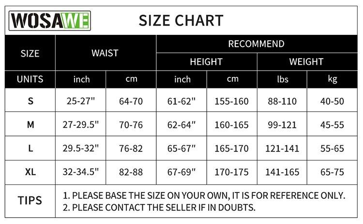 BL101-销售尺码表-英文