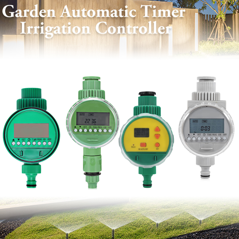 Sprinklers-Fittings-Set Watering-Timer Garden Drip-Irrigation-System Digital Automatic title=