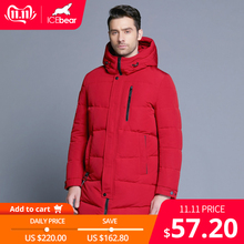 Icebear Jacket Warm Parka Casual Coat Hood Men MWD18856D Hot-Sale Winter Fashion High-Quality
