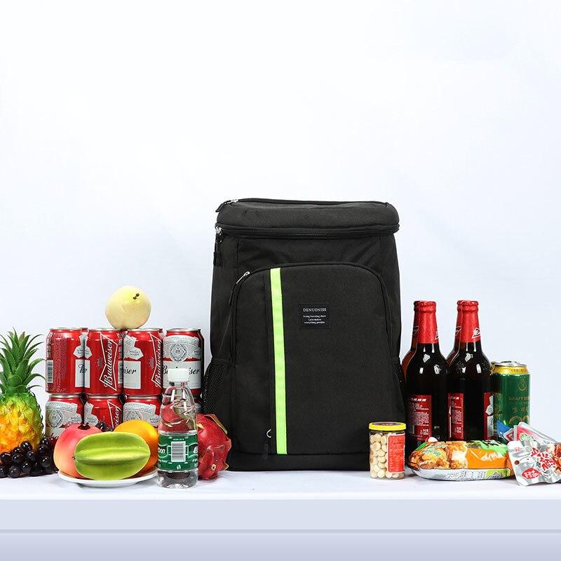 Brand Insulated Cooler Bag Large Capacity Backpack Bag Portable Travel Food Backpack Waterproof